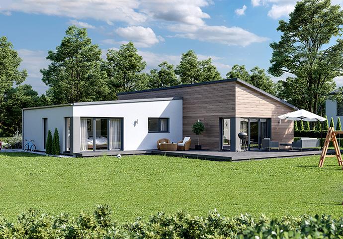 bungalow-versetztes-pultdach-fertighaus-bungalow-gartenansicht